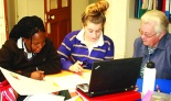 Janet Lowe n SAC students1 new